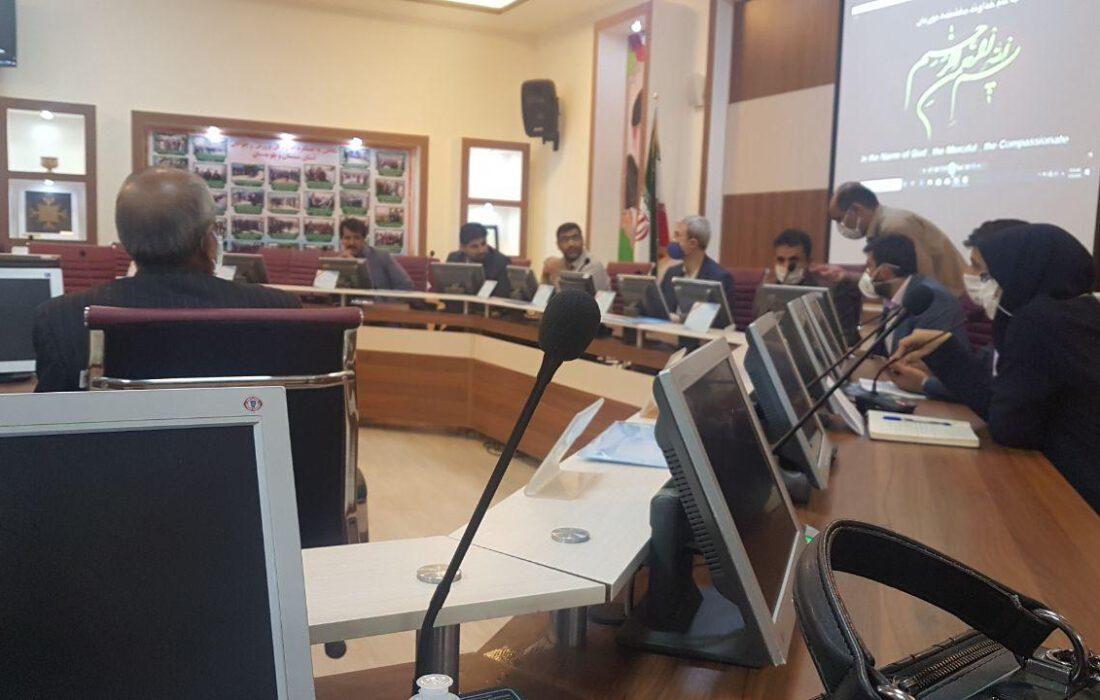 مجمع انتخاباتی هیأت سیستان و بلوچستانبه ریاست مهرداد علی قارداشی برگزار شد