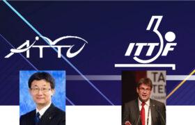 فدراسیون جهانی و کنفدراسیون آسیا از عملکرد مثبت فدراسیون تنیس روی میز ایران تقدیر کردند