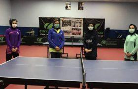 دومین اردوی تیم ملی بانوان تنیس روی میز آغاز شد