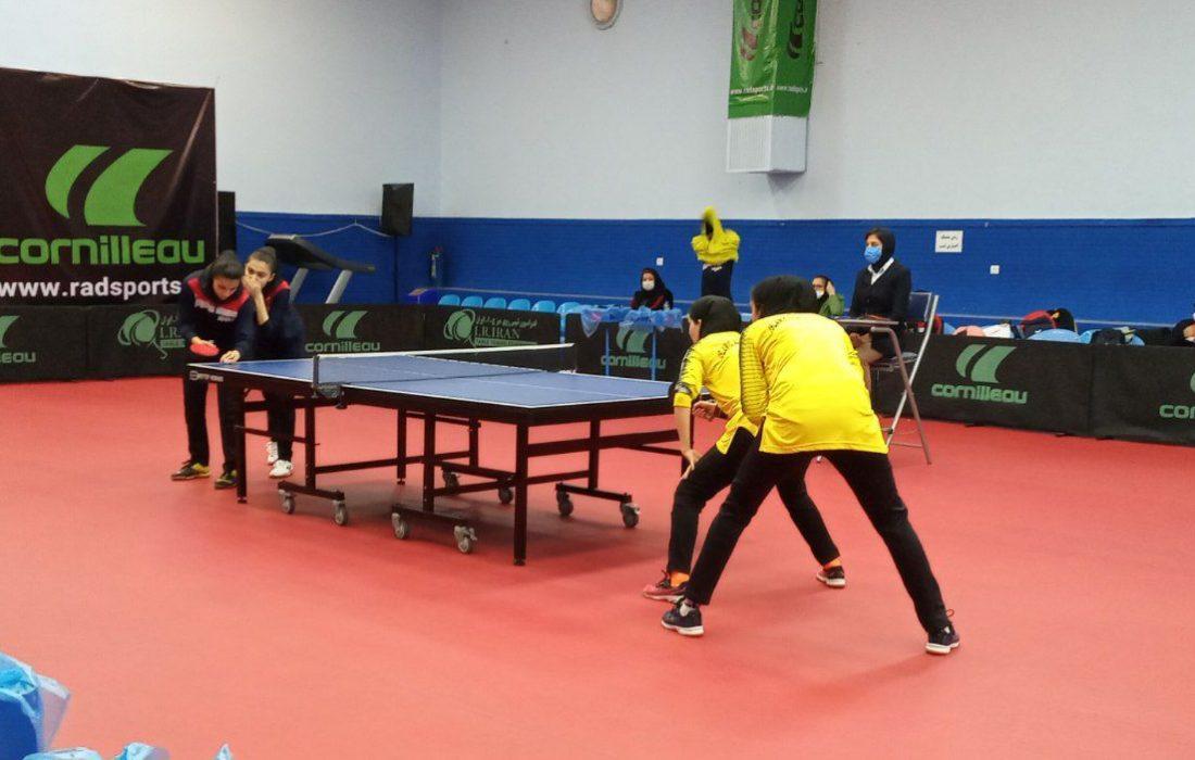 دور سوم لیگ برتر تنیس روی میز بانوان کشور به میزبانی کمپ بین المللی شهید عضدی تهران
