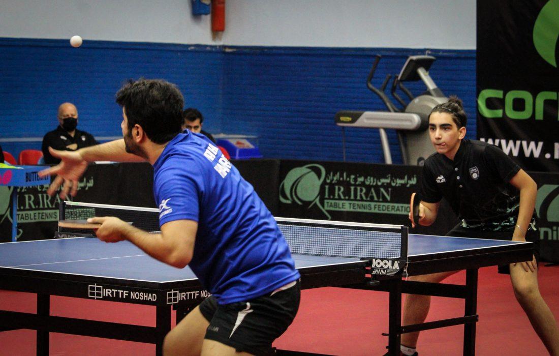 مرحله رفت بیست و نهمین دوره مسابقات لیگ برتر آقایان کشور؛ گروه اول – سالن شهید عضدی
