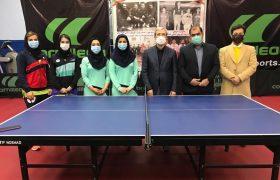 گزارش تصویری بازدید مسئولین از اردوی تیم ملی بانوان