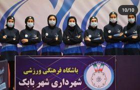 تداوم صدرنشینی موقت بانوان شهرداری شهر بابک