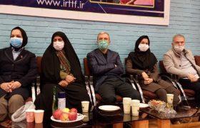 بازدید مسئولین وزارت ورزش و فدراسیون تنیس روی میز از مسابقات لیگ برتر بانوان