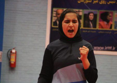 انتخاب اولین ملی پوش نوجوان دختر