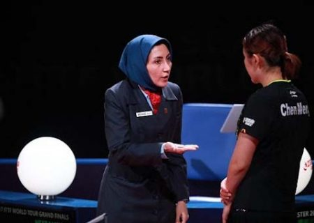 قضاوت داور المپیکی ایران در مرحله ۱/۴ پایانی