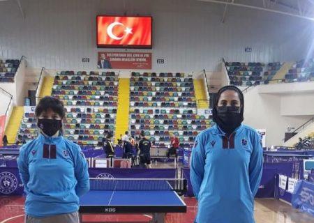 ترابازون با مریم صامت در صدر جدول لیگ ترکیه