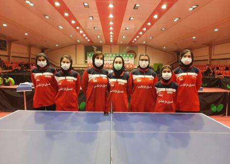 تصاویر تیمهای حاضر در مرحله یک چهارم نهایی رقابتهای لیگ برتر نوجوانان و جوانان دختران باشگاههای کشور