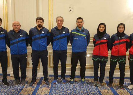 نتایج نمایندگان ایران در مرحله گروهی رقابت های انتخابی المپیک در منطقه آسیای میانه