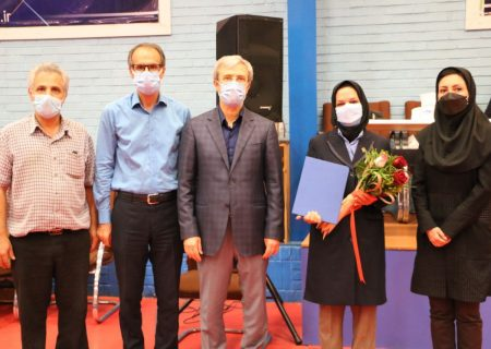 مراسم تجلیل از پوران رحیمی مسئول سابق داوران بانوان کمیته مسابقات و داور ارزنده و بین المللی کشورمان انجام شد