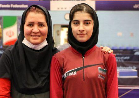 شیما صفایی با قهرمانی در مرحله دوم به عضویت تیم ملی درآمد