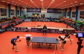 گزارش تصویری (۲)  فینال مسابقات لیگ برتر تنیس روی میز
