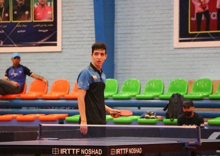 پدیده ی لیگ تنیس روی میز در جوانان هم ملی پوش شد