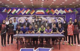 بازدید وزیر ورزش و جوانان از فدراسیون تنیس روی میز در اولین دقایق تصدی وزارت خانه