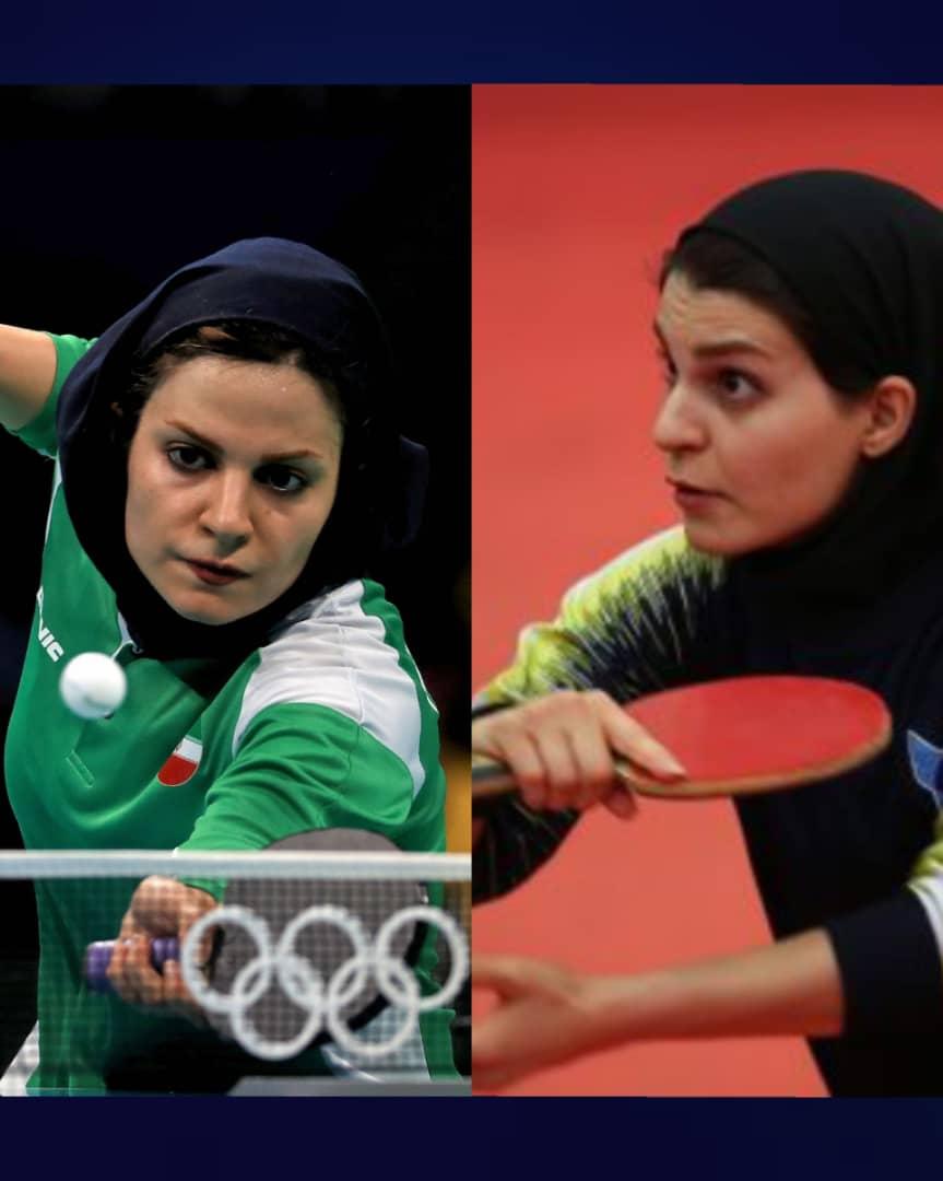پیروزی خواهران شهسواری در لیگ پینگ پنگ عرب