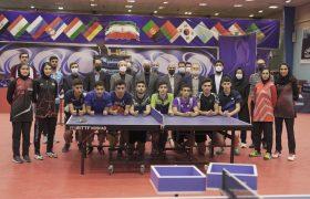 گزارش تصویری حضور دکتر سید حمید سجادی وزیر محترم ورزش و جوانان در فدراسیون تنیس روی میز و بازدید از اردوی تیم ملی
