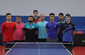 اردوی تیم ملی تنیس روی میز بزرگسالان آقایان تعطیل شد
