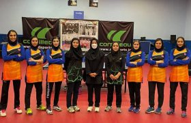 بازدید نایب رئیس فدراسیون از اردوی تیم ملی بانوان
