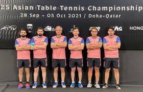 برای اولین بار ، پنجمی ایران در تنیس روی میز قهرمانی آسیا