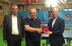 نشست دو جانبه رئیس فدراسیون ایران و ارمنستان