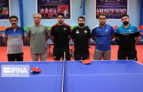 مسیر مردان تنیس روی میز ایران در قهرمانی آسیا